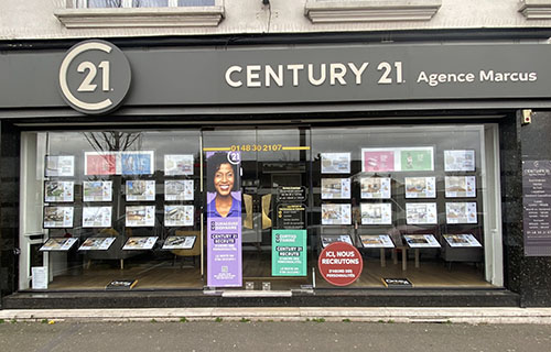 Agence immobilière CENTURY 21 Agence Marcus, 93700 DRANCY